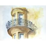 Le balcon rond